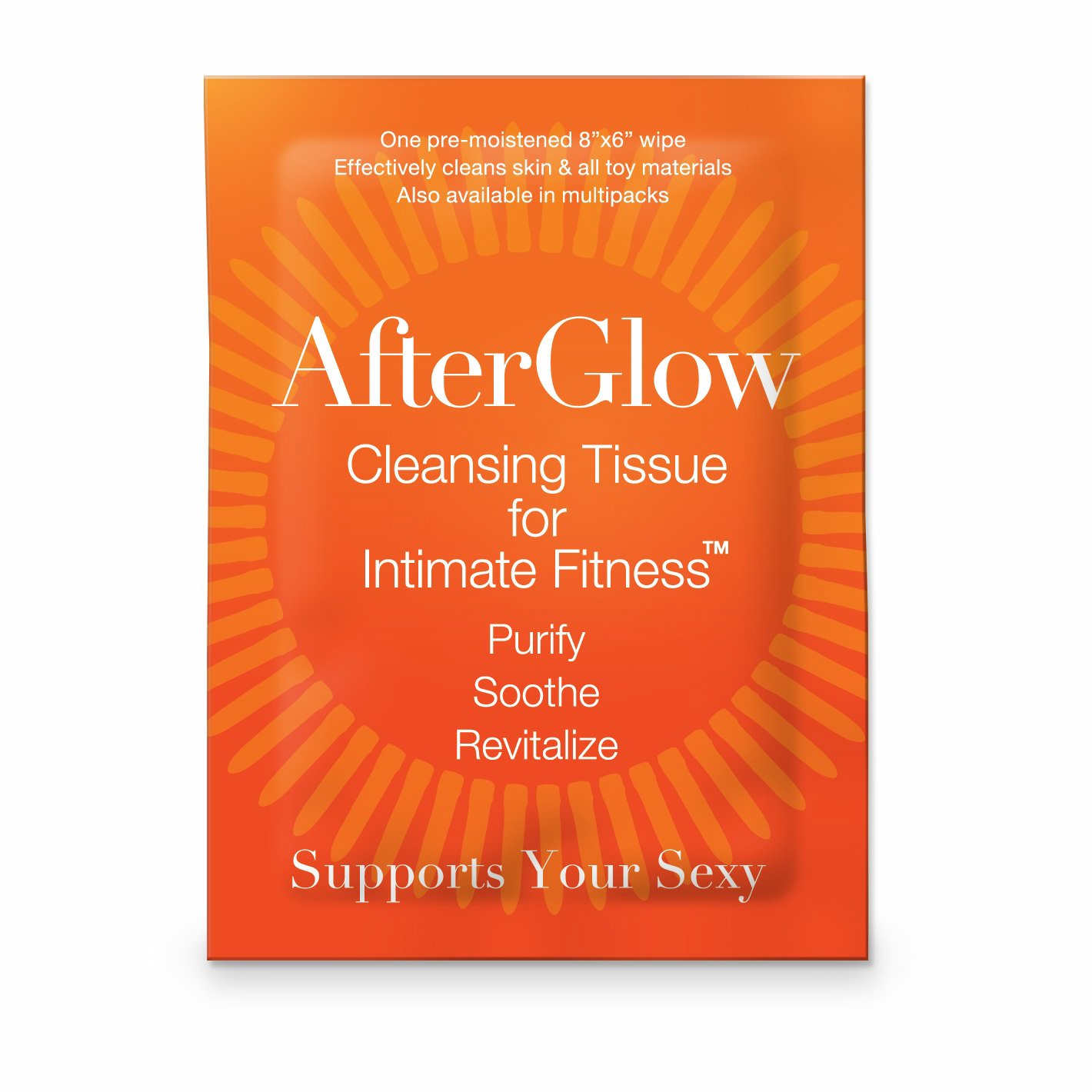 AFTERGLOW SINGLES CLEANSING TISSUE