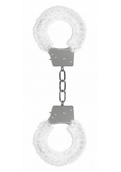 BEGINNERS HANDCUFFS FURRY WHITE