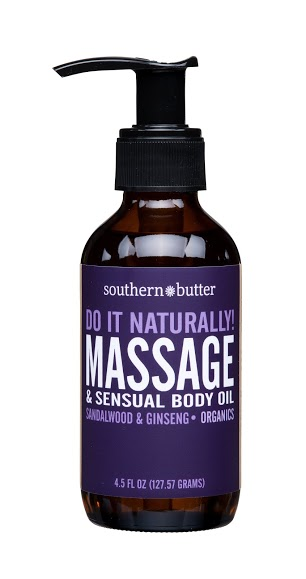 Body & Massage Oil Sandalwood & Cinnamon 4.5oz