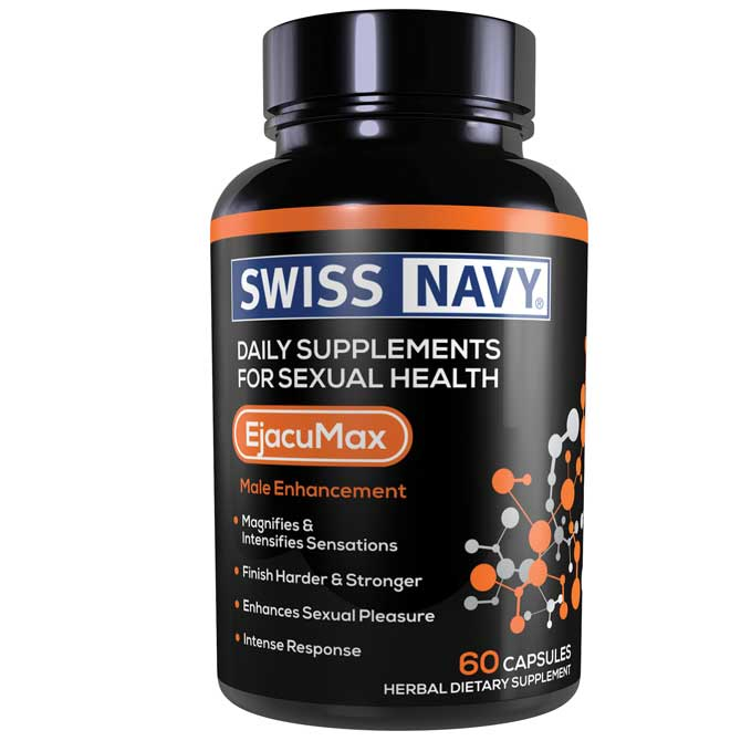 SWISS NAVY EJACUMAX FOR HIM 60CT