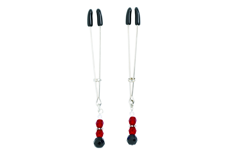Adj Clamp W/Red Beads - SPF105