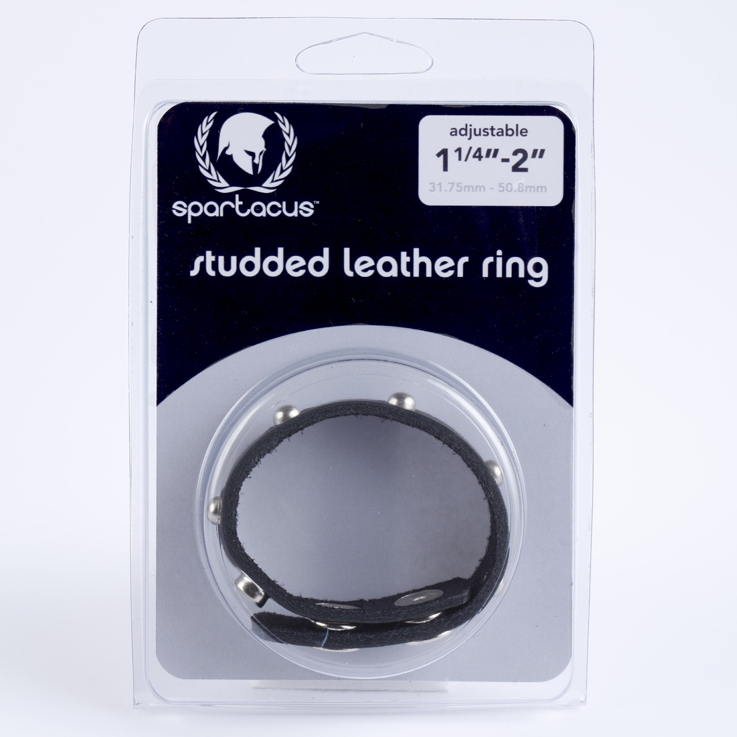STUDDED C RING