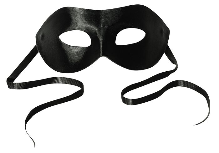 MIDNIGHT SATIN MASK