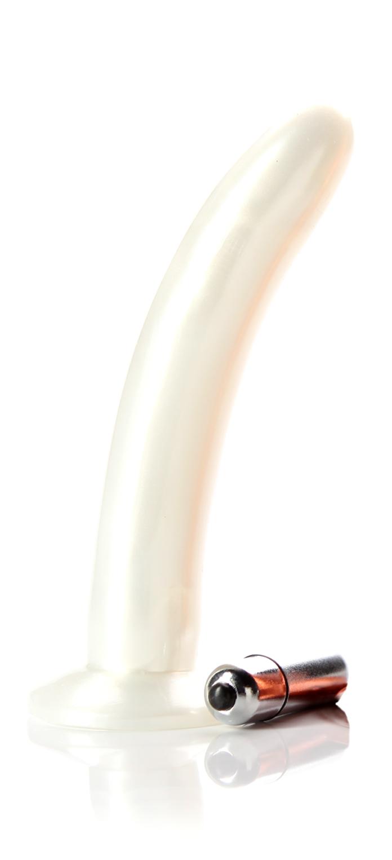 Pearl white vibrator