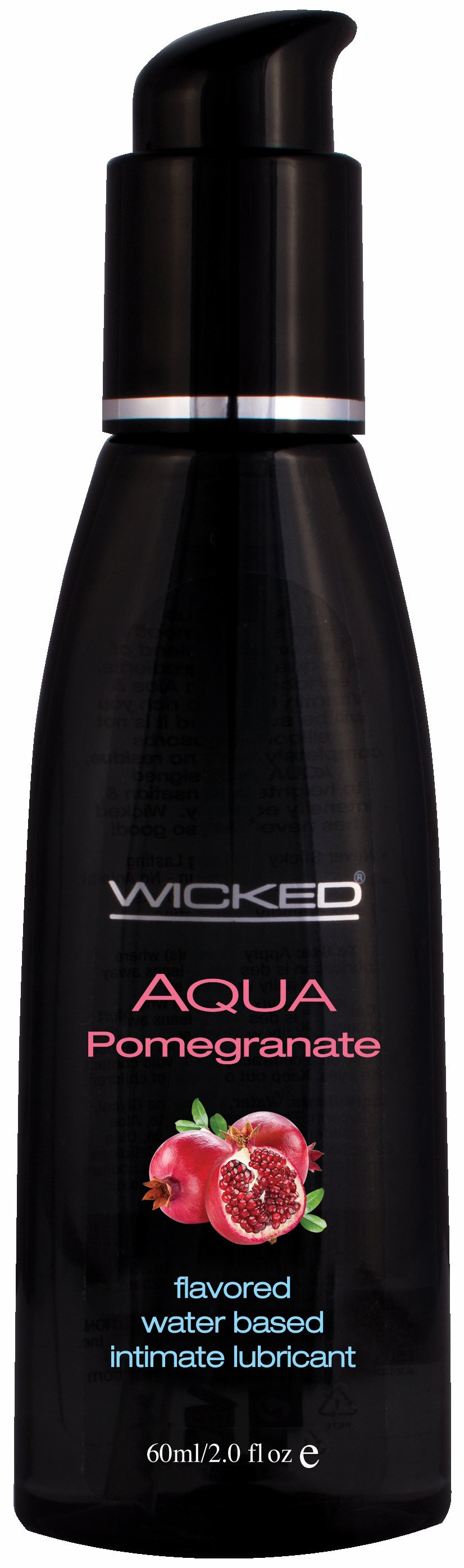 AQUA POMEGRANATE LUBE 2 OZ