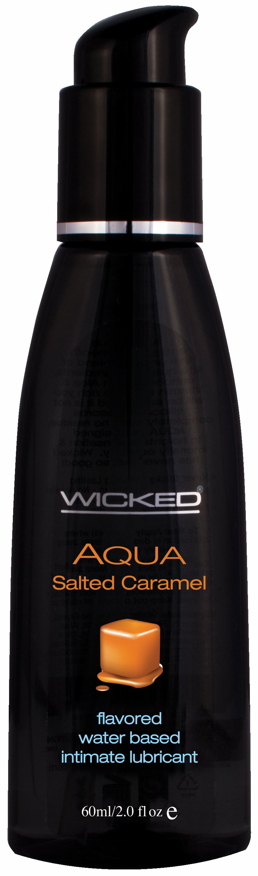 AQUA SALTED CARAMEL LUBE 2 OZ