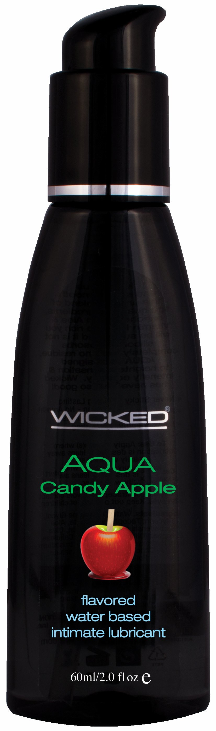 AQUA CANDY APPLE LUBE 2 OZ