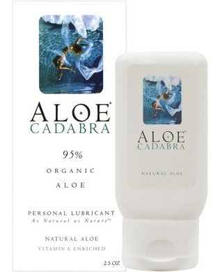 ALOE CADABRA ORGANIC LUBE NATURAL ALOE 2.5 OZ  - AC1030812