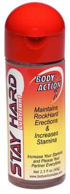 Body Action Stayhard 2.3 Oz