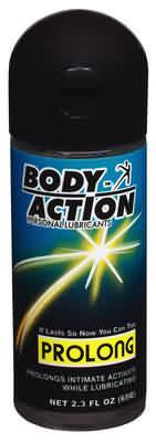 Body Action Prolong 2.3 Oz - BA035