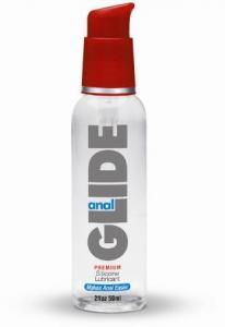 Anal Glide Silicone Lubricant 2Oz Pump