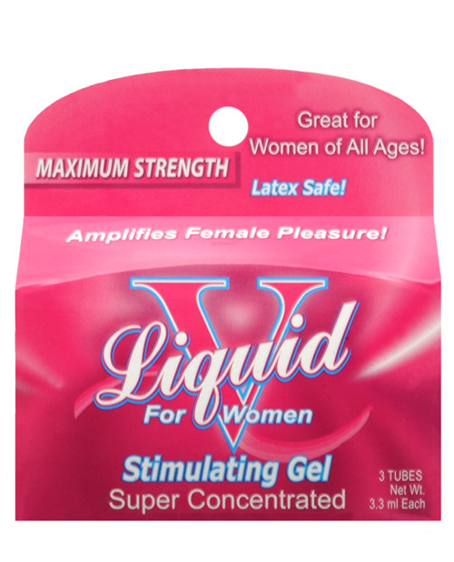 BODY ACTION LIQUID V FOR WOMEN BOX (3 PACKETS)