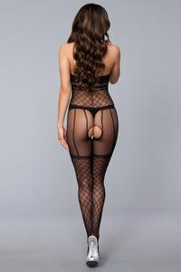 Halter Crotchless Bodystocking Queen