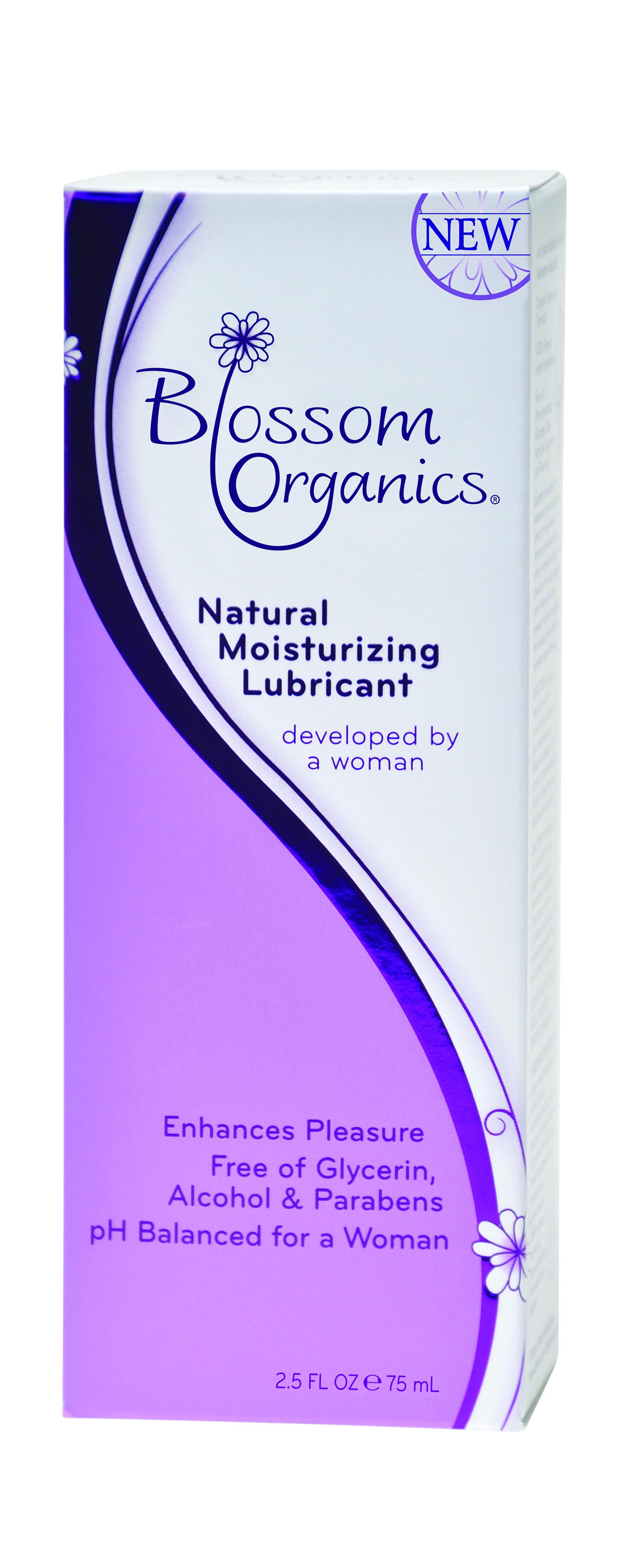 Blossom Organics Natural Lube 2.5 Oz.