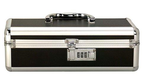 Lockable Vibrator Case Black Small