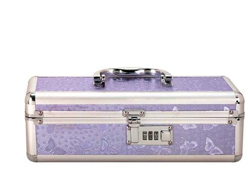 Lockable Vibrator Case Purple Small