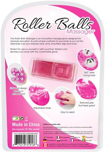 ROLLER BALLS MASSAGER PINK - BMS31916