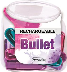 Power Bullet Rechargeable Display Of 12