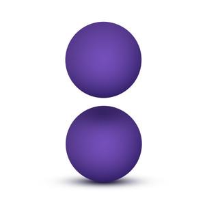 Luxe Double O Kegel Balls 1.3 Oz Purple