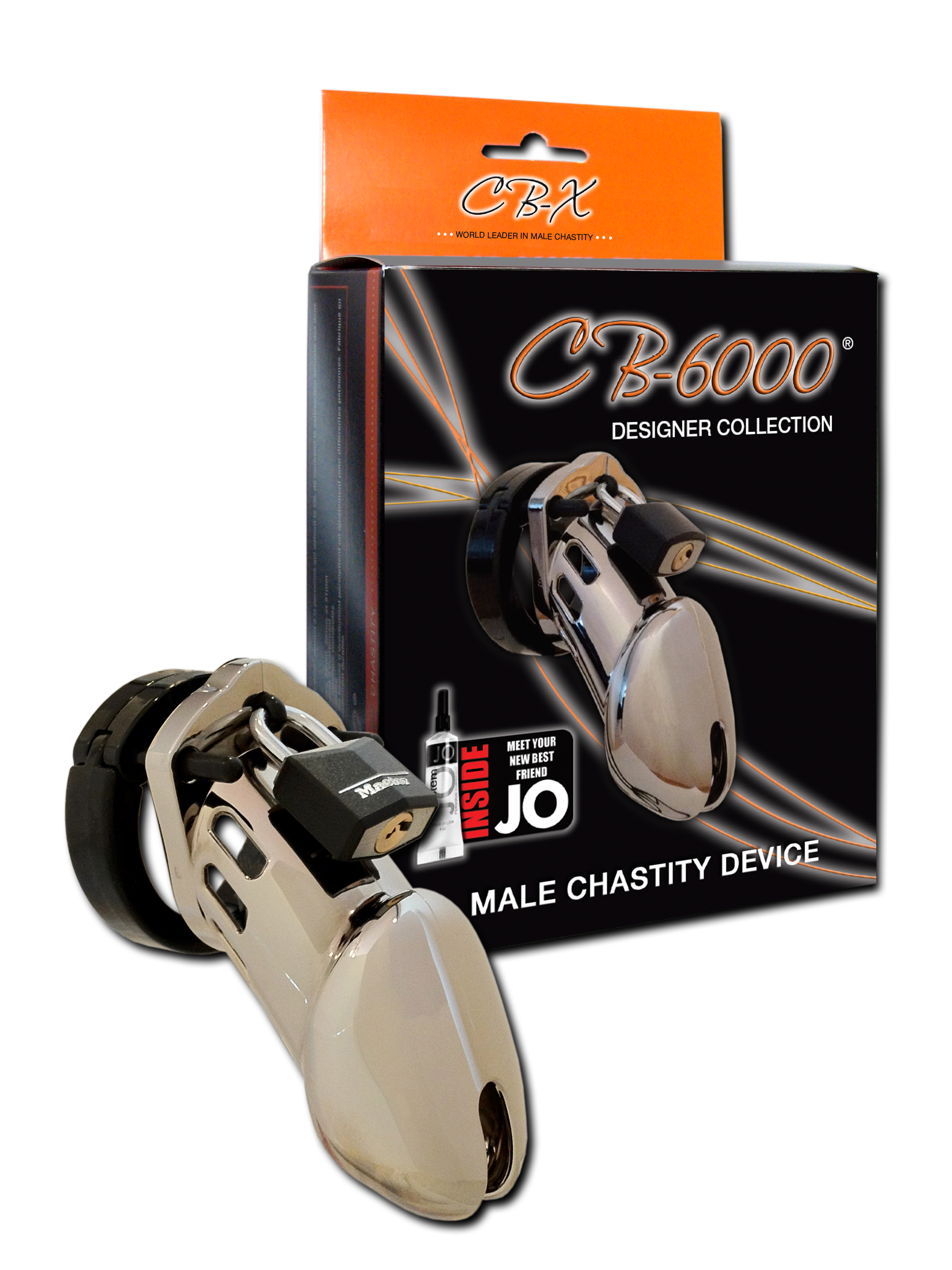"Chastity 3 1/4"" Chrome Cock Cage"