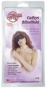 (Wd) Cathys Blindfold Black