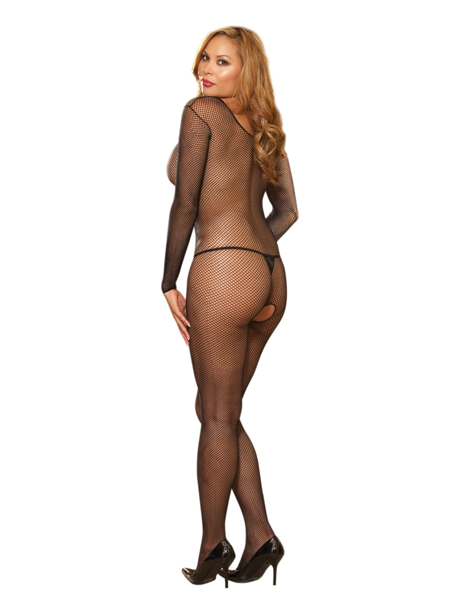 "Body Stocking Black Os Queen ""Amsterdam"""