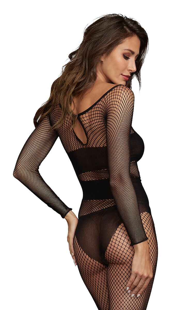 BODYSTOCKING DMD BLACK O/S