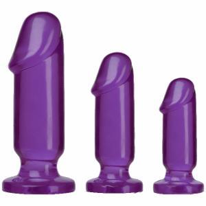 Crystal Jellies Anal Starter Purple