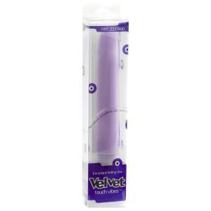 7 Inch Velvet Touch Lavender Vibrator