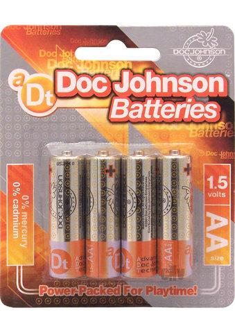 DOC JOHNSON BATTERIES AA 4 PACK CD  - DJ039905