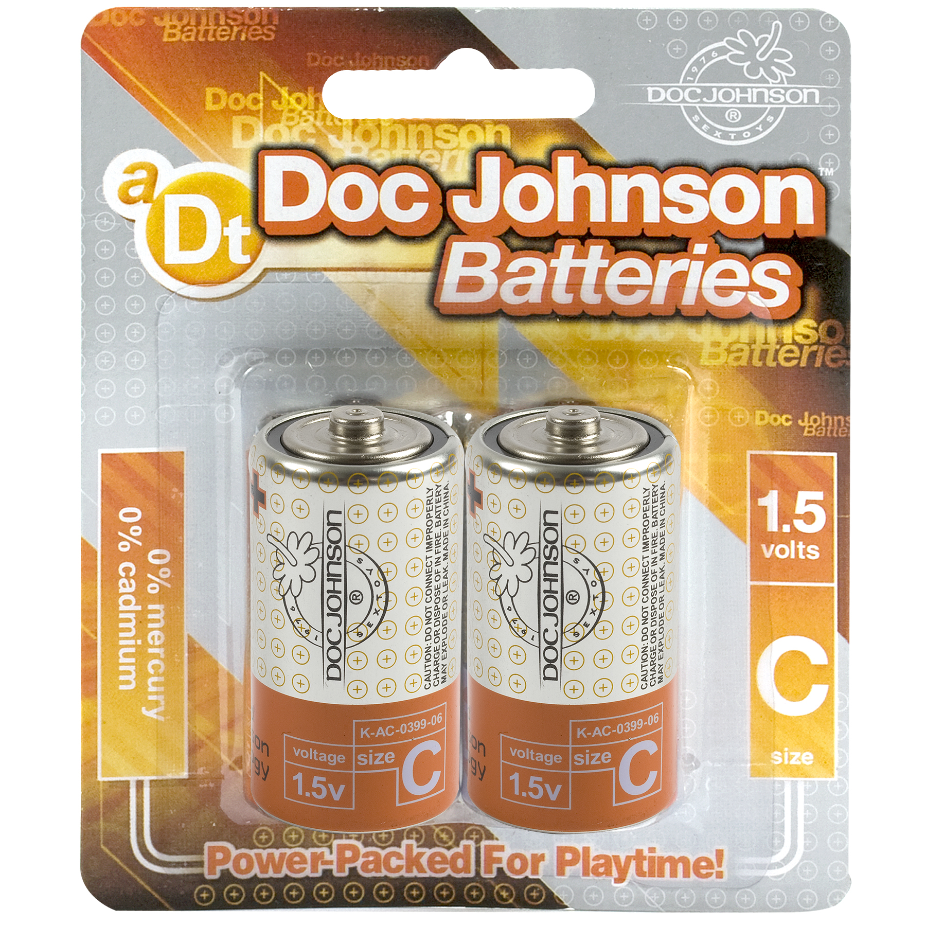 DOC JOHNSON BATTERIES C 2 PACK CD