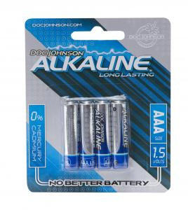 Doc Johnson Aaa Batteries 4 Pack Alkaline Cd