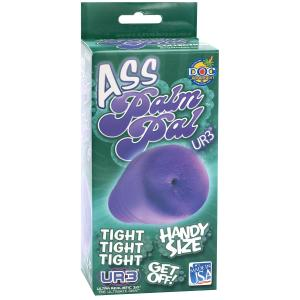 Palm Pal Frosted Ultraskyn Masturbator Ass Purple Bx