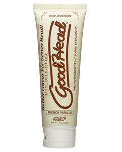 Goodhead Oral Delight Gel 4 Oz French Vanilla