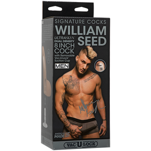 Signature Cocks William Seed 8 In Ultraskyn