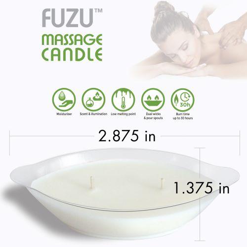 FUZU MASSAGE CANDLE COCONUT PASSION 4 OZ