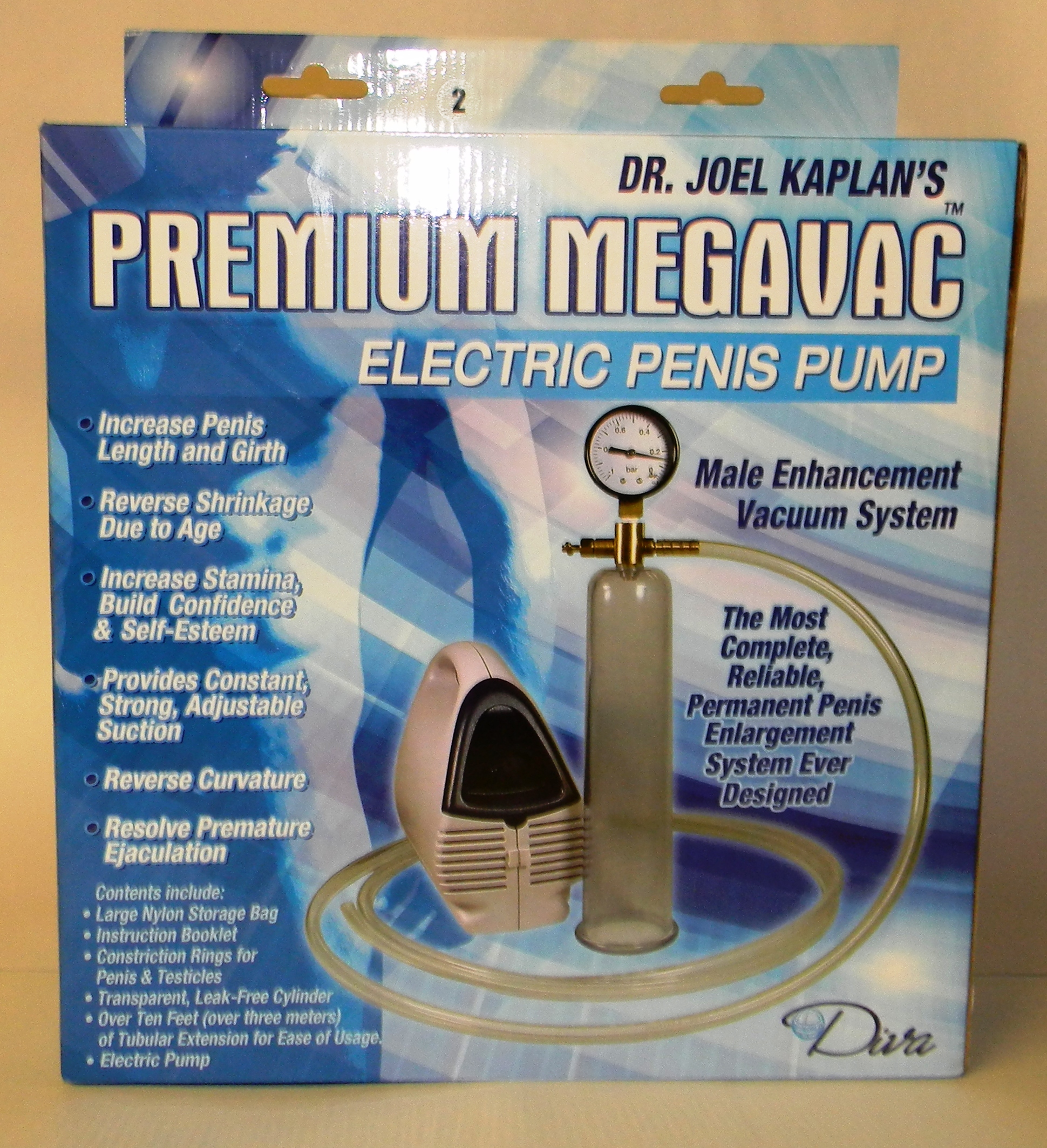 ELECTRIC PENIS PUMP LARGE