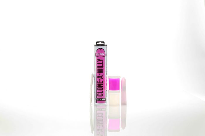 CLONE A WILLY HOT PINK GLOW IN THE DARK