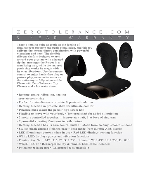 ZERO TOLERANCE STRAPPED & TAPPED - ENZEAP62902