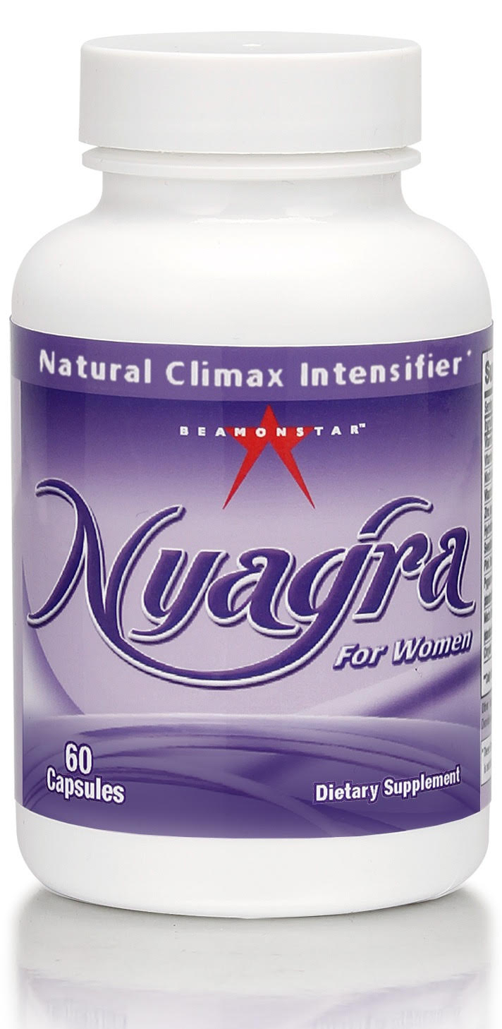 NYAGRA FEMALE 60CT BOTTLE CLIMAX INTENSIFIER