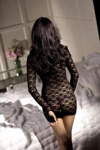 Vixen Long Sleeve Mini Dress O/S