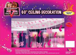 Bachelorette 60in Penis Ceiling Decor