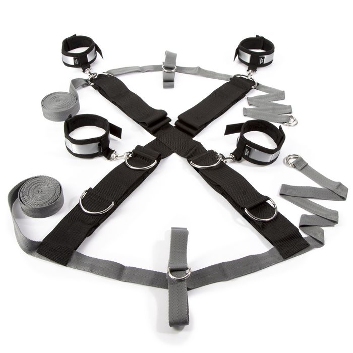 OVER THE BED CROSS RESTRAINT SILVER