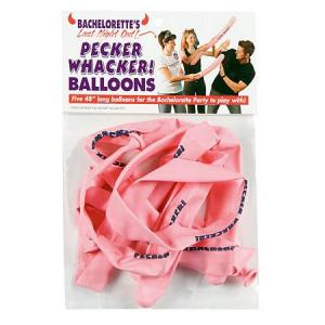 Pecker Whacker Balloons