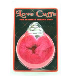 Love Cuffs Plush Red