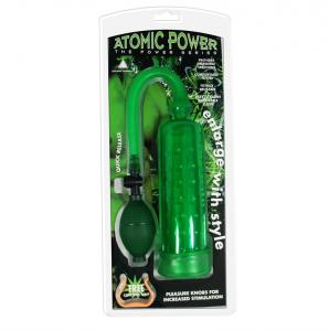 Atomic Power Pump Green