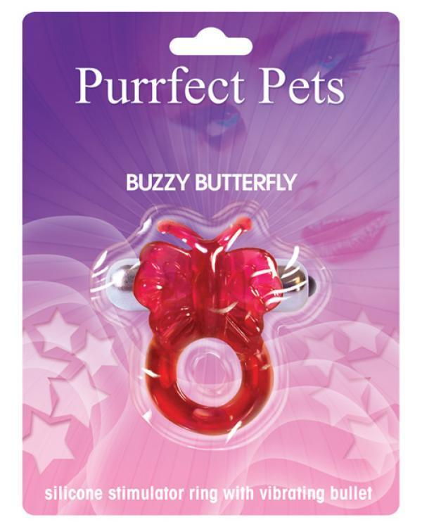 PURRFECT PET BUTTERFLY PURPLE