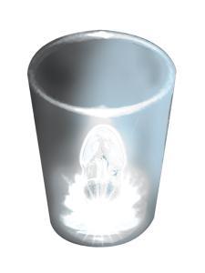 Light Up Shot Glasses-Clear