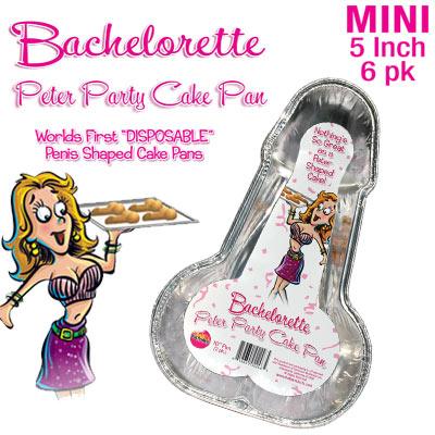 BACHELORETTE PARTY CAKE PAN SMALL
