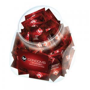 Id Studded Condom Jar 144Pcs
